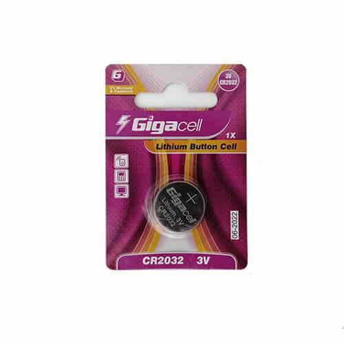 باتری سکه ای گیگاسل مدل 2032 بسته تکی