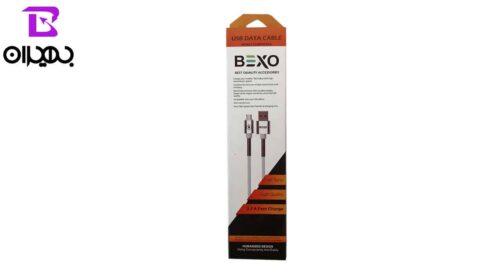 کابل USB به MicroUSB بکسو مدل B-004 طول 1 متر