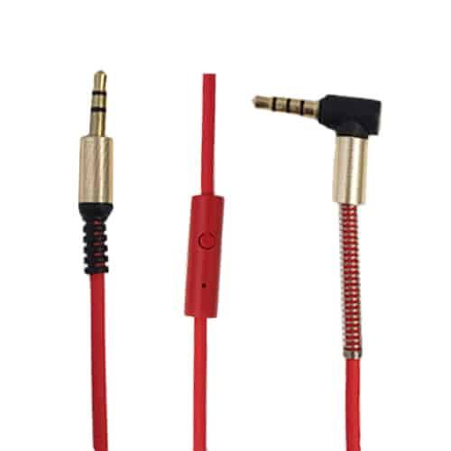 کابل AUX میکروفون دار مدل KB-830