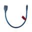 کابل MicroUSB به مادگی USB مدل 006 طول 0.3 متر
