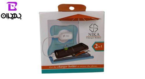پایه نگهدارنده موبایل Nika مدل 2in1
