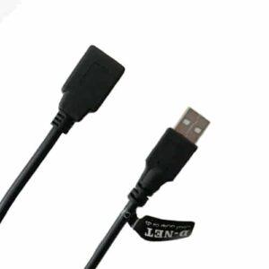 کابل افزایش طول USB دی-نت