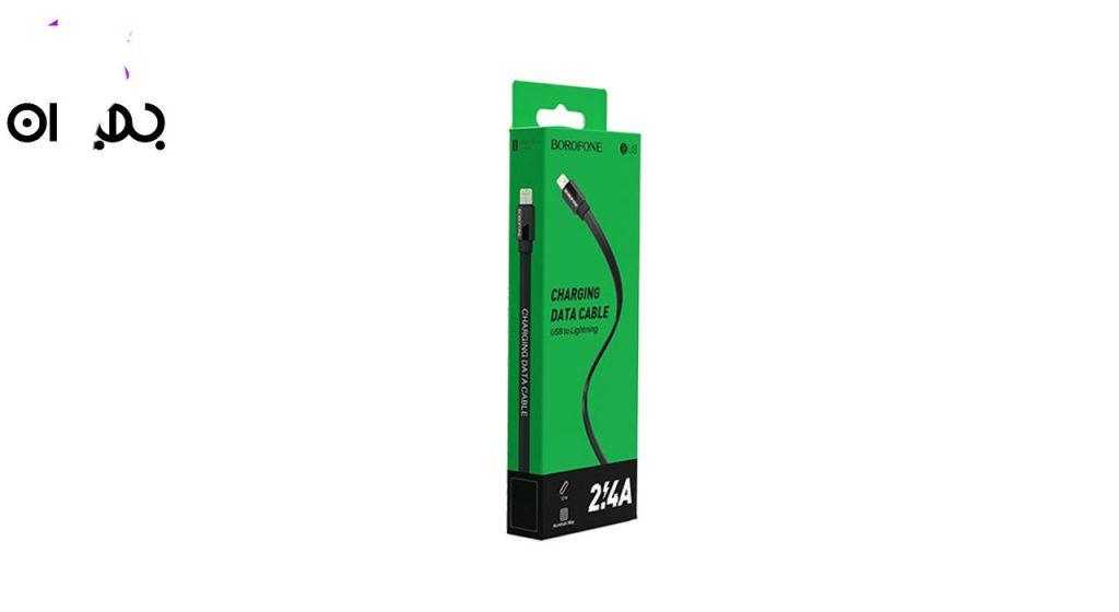 کابل تبدیل USB به لایتنینگ بروفون مدل BU8 طول 1 متر