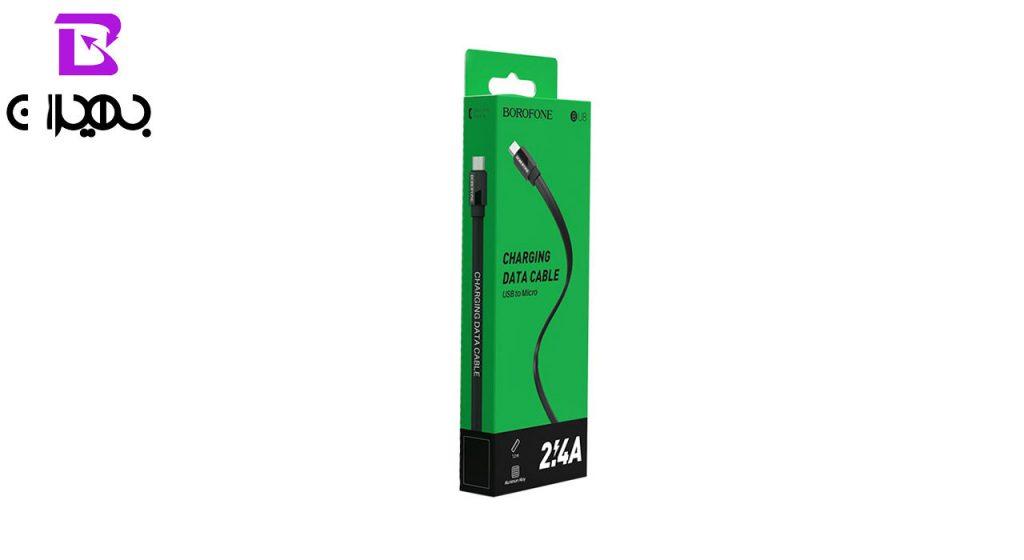 کابل تبدیل USB به MicroUSB بروفون مدل BU8 طول 1 متر