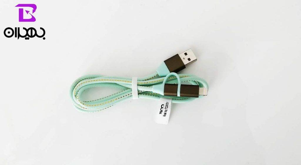 کابل USB به MicroUSB و لایتنینگ تسکو مدل A101