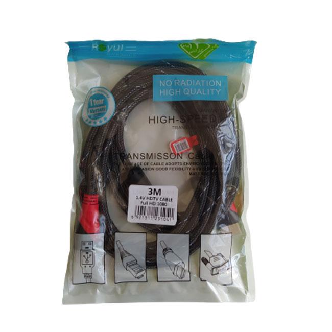 کابل HDMI رویال مدل 084 طول 3 متر