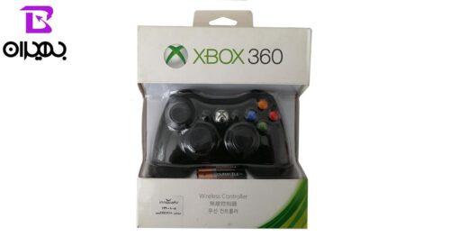 دسته بازی بی سیم مدل XBOX360 W
