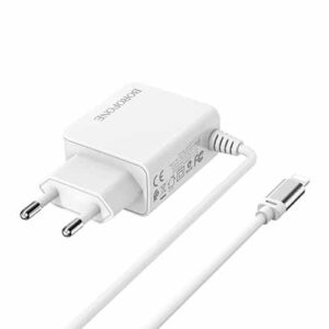 borofone BA35A Wall charger with Lightening cable