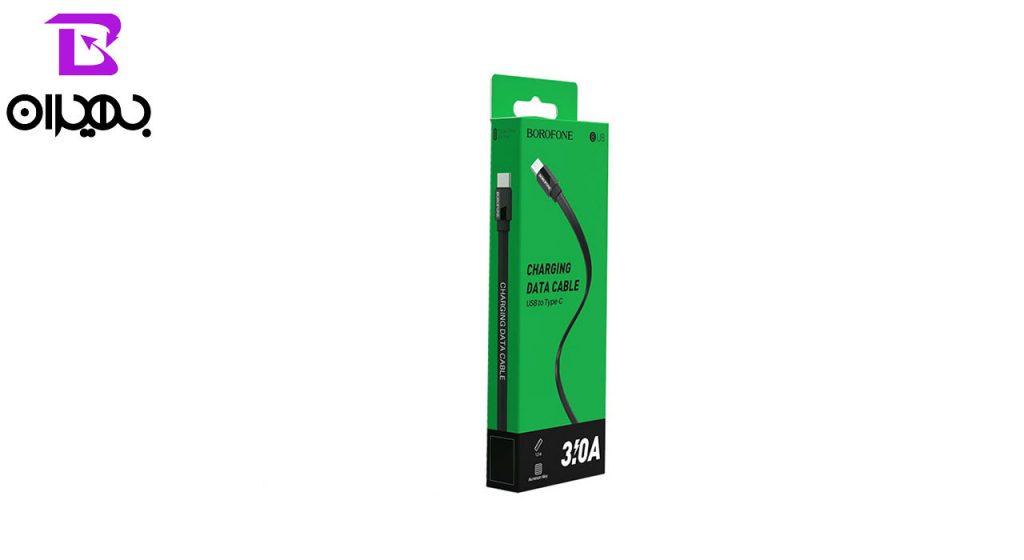 کابل تبدیل USB به Type-C بروفون مدل BU8 طول 1 متر