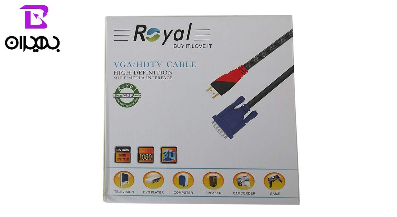 کابل HDMI رویال مدل 167 طول 30 متر
