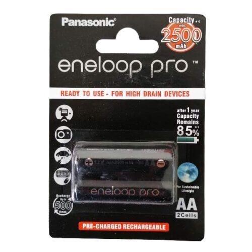 باتری قلمی شارژی پاناسونیک مدل Enelop