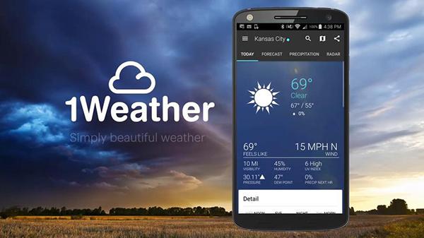 حرفه ای ترین برنامه هواشناسی اندروید