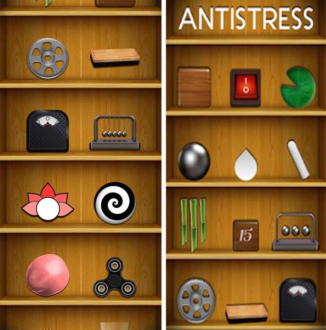 بازی موبایل برای کاهش استرس