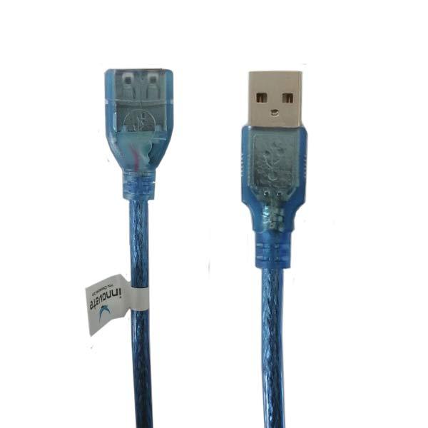 کابل افزایش طول USB اینوویت مدل INV-076 طول 3 متر