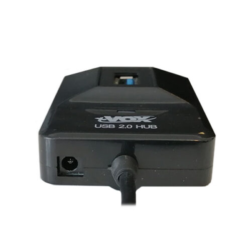 هاب X-VOX USB2.0 مدل x-803 چهار پورت آداپتوردار کابل 1.2 متر