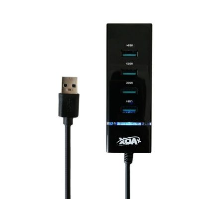 هاب X-VOX USB3.0 مدل x-818 چهار پورت