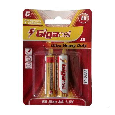 باتری قلمی گیگاسل مدل 020 بسته 2 عددی