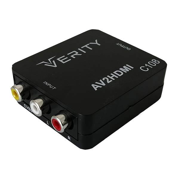 تبدیل AV به HDMI وریتی مدل C108