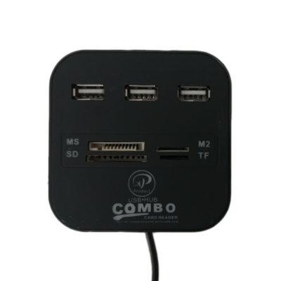 هاب USB2.0 و کارت خوان ایکس پی پروداکت مدل XP-HC836C