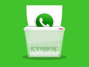 روش حذف اکانت واتساپ از طریق وب سایت