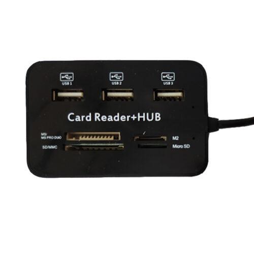 هاب USB رم ریدر مدل HY-617