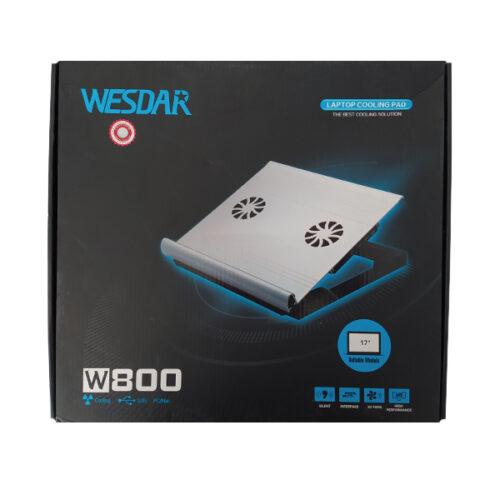پایه خنک کننده لپ تاپ وسدار مدل W800