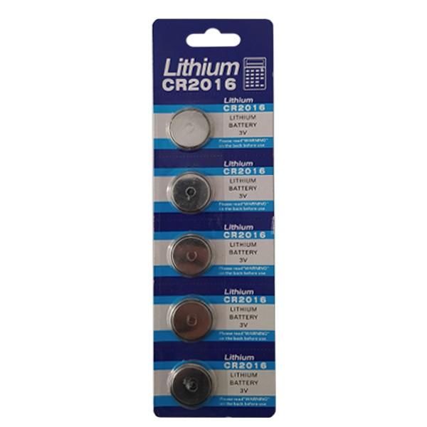 باتری سکه ای لیتیوم مدل CR2016