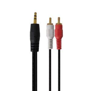 کابل صدا 1 به 2 ام دبلیو نت مدل 100 طول 1.5 متر