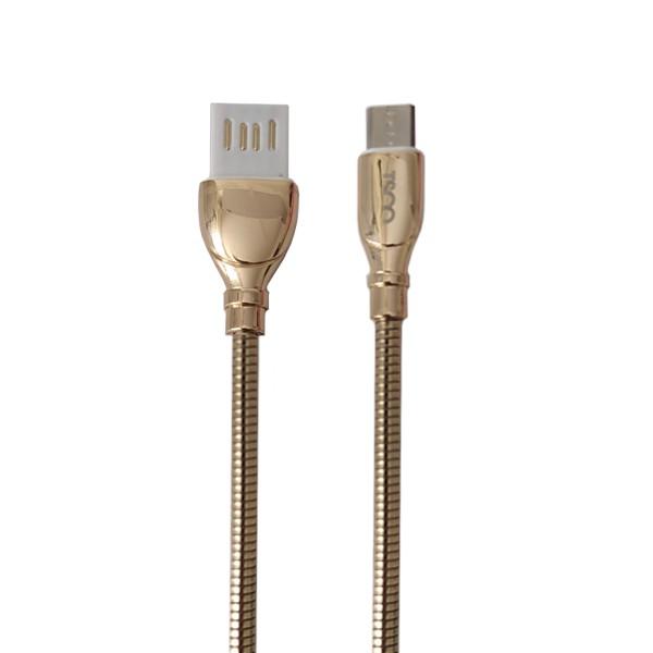 کابل تبدیل USB به MicroUSB تسکو مدل TC62N طول 1 متر