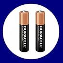 باتری نیم قلمی