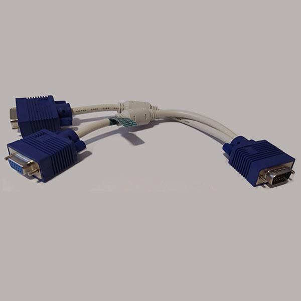 تبدیل 1 به 2 مانیتور VGA مدل 031