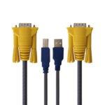 کابل KVM USB مدل 014 طول 1.5 متر