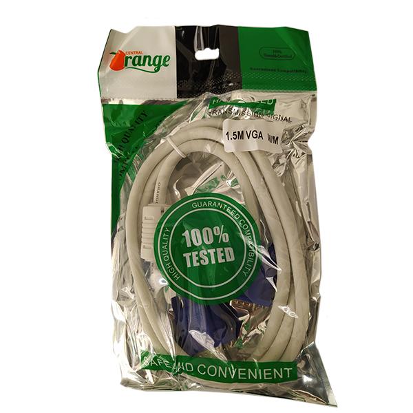 کابل VGA اورنج طول 1.5 متر