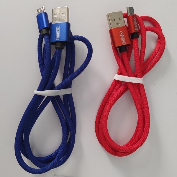 کابل USB به MicroUSB ریمکس مدل RC-091m طول 1 متر