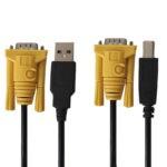 کابل KVM USB دی-نت مدل 062 طول 1.5 متر