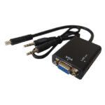 تبدیل MiniHDMI به VGA و Audio مدل JWD-HDMI10