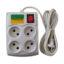 چهارخانه برق نایک الکتریک مدل 074 طول کابل 3 متر