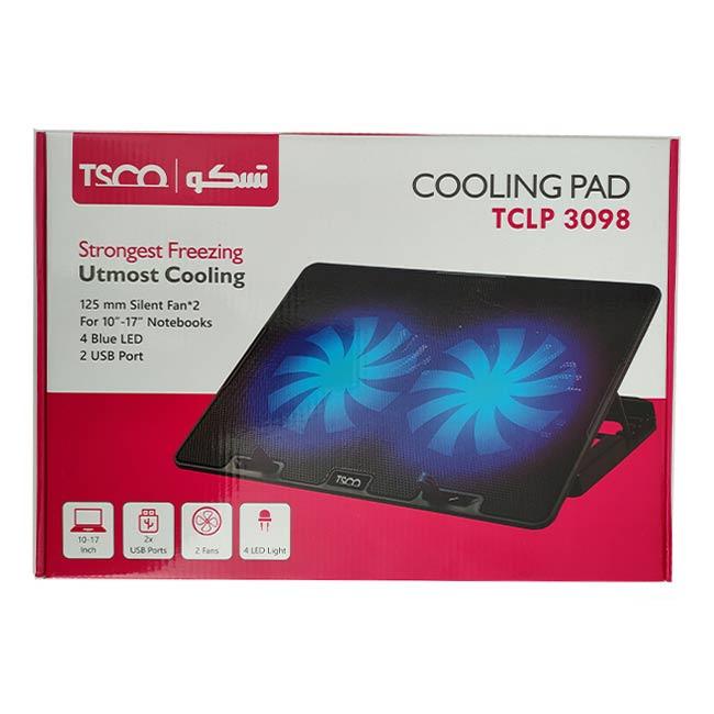 پایه خنک کننده لپ تاپ تسکو مدل TCLP 3098