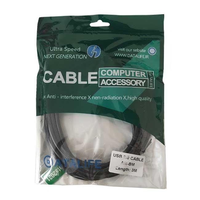 کابل پرینتر USB دیتالایف