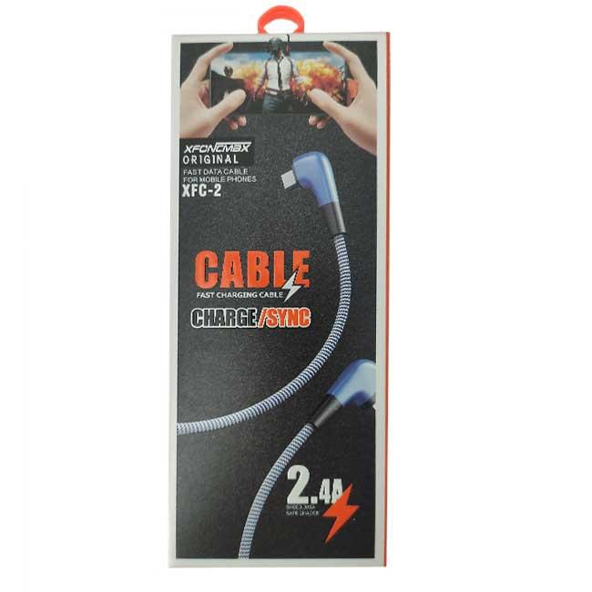 کابل USB به Type-C مدل XFC-2 طول 1 متر