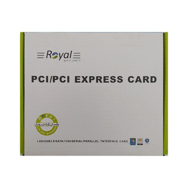کارت USB3.0 PCI دو پورت مدل 020
