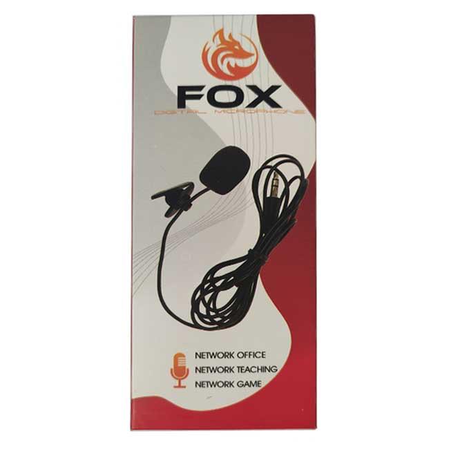 میکروفون یقه ای فاکس