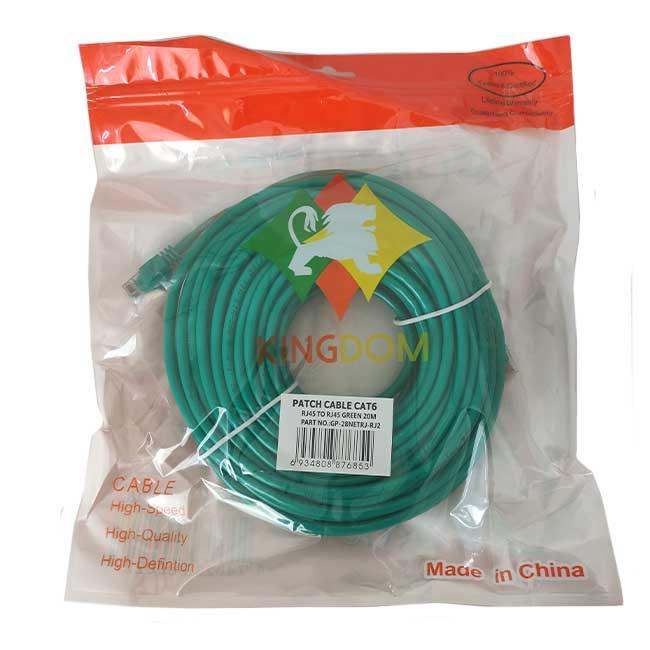 کابل شبکه Cat6 UTP اسکار طول 20 متر