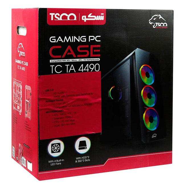 کیس مخصوص بازی تسکو مدل TC4490