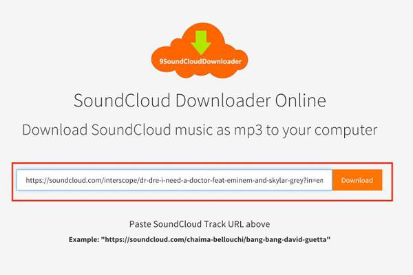 آموزش دانلود از برنامه soundcloud
