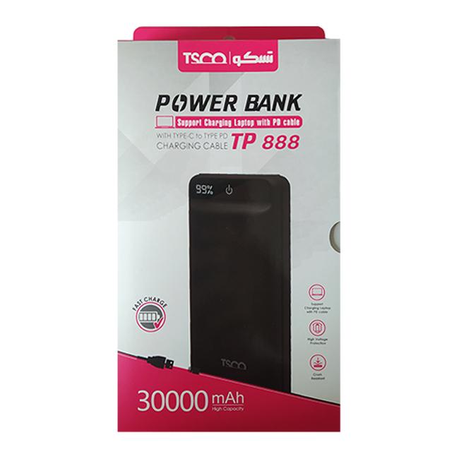 شارژر همراه تسکو مدل TP 888 ظرفیت 3000MAH
