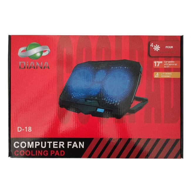 پایه خنک کننده لپ تاپ دیانا D-18