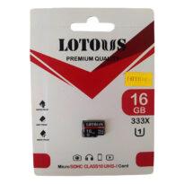 کارت حافظه 16GB لوتوس مدل U1 333X