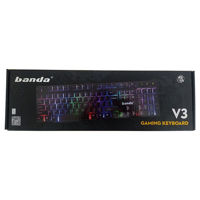 کیبورد مخصوص بازی باندا مدل V3